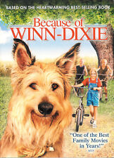 Because of Winn-Dixie ~ Jeff Daniels ~ DVD WS FS with Slipcover ~ FREE Shipping