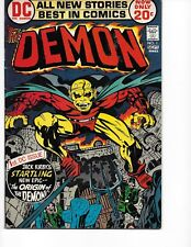 Demon  #1 ( Origin/Kirby Art  VF+  8.5) Nov-1972,  DC
