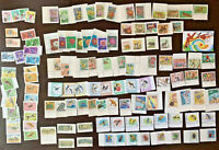 HUGE VIETNAM STAMP LOT, SETS OF FLOWERS, BIRDS, SOCCER, BUGS, DINOSAURS & MORE