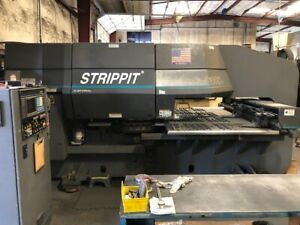 33 Ton Strippit 1000H/30 CNC Turret Punch w. Tooling