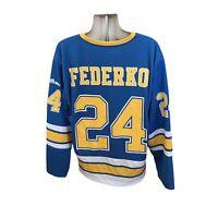 St. Louis Blues Mens XL Hockey Jersey Vintage Federko #24