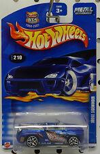 DODGE BOYS CONCEPT SIDEWINDER SHOW CAR MOPAR BLUE 2002 210 HOT WHEELS HW