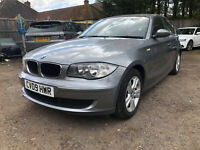 2009 (09) BMW 118D ES 141 BHP NO RESERVE SPARES OR REPAIR LOW MILES 56000 FSH