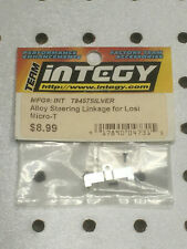 Integy T8457 Silver Alloy Steering Drag Linkage for Team Losi Micro-T  NOS NIP