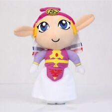 "Lovely Princess Zelda Plush Legend Of Zelda Ocarina Of Time Rare Handmade 7"" New"