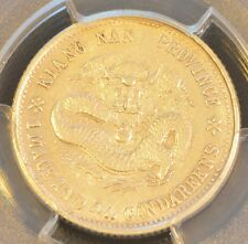 1899 China Kiangnan Silver 20 Cent Dragon Coin PCGS Y-143A.2 AU Details