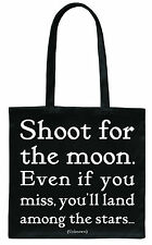 Quotable 'Shoot...' - Beautiful quotes - beautiful designs on Tote Bags & more!