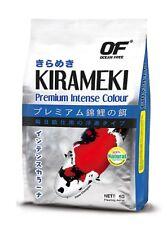 Ocean Free Kirameki Premium Intense Colour Koi Mini Pellet Fish Food 5Kg