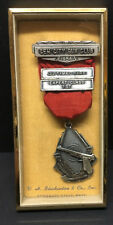 [66194] 1956 GEM CITY GUN CLUB (PA.) 22 TIMED FIRE EXPERT CLASS 1st AWARD