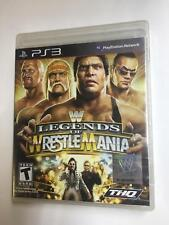 WWE Legends of WrestleMania PS3 NEW SEALED PACKAGE