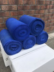 5 x Rolls Blue Roller Towels