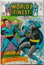 WORLD'S FINEST #182 VF- 7.5 DC 2/1969 BATMAN & SUPERMAN