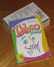 Taboo Junior - Kids Party Game Jr - 2001 Hersch & Company - Complete & Nice