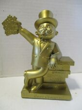2009 Hasbro Family Game Night CHAMPION Gold Trophy Mr Monopoly Toys R Us   (A1)
