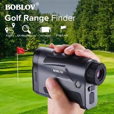 BOBLOV 6x22 Golf Hunting Rangefinder With Flag-Lock Vibration Function 650 Yards