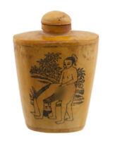Bottiglia Bottiglietta Boccetta Arte Shunga Erotico Giapponese Curiosa - 3482 K