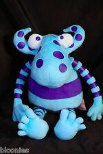 FAO Schwarz Not So Scary Monsters Blue Plush Toy Doll (Schwartz)