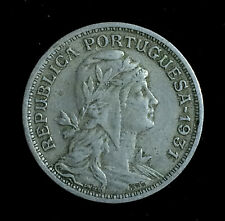 Portugal 50 Centavos 1931, Key Date, Nice Condition