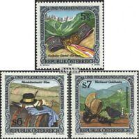 Österreich 2149-2151 (kompl.Ausgabe) postfrisch 1995 Volksbrauchtum