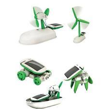 6 in 1 Creative Educational Solar Robot Kit Educational Solar Toy For Children