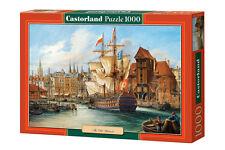 Castorland C-102914 Puzzle The Old Gdansk Danzig Stadt Segelschiff 1000 Teile
