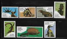Guinea Bissau 827-33 Dinosaurs Mint NH