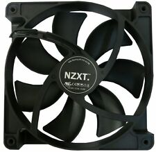 NZXT 14 cm 140 mm Negro Fan Cooler refrigeración de computadora PC caso 3 Pin