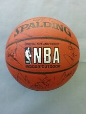 2000-2001 NBA Boston Celtics Signed Team Basketball, Paul Pierce, Kenny Anderson