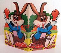Il Coniglio Pigro COLLANA I GRANELLINI edizioni Malipiero 1969 libro sagomato