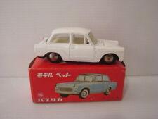Rare miniature TOYOTA Model PET PUBLICA ASAHI TOY n°14 Made in JAPAN 1/42 boite