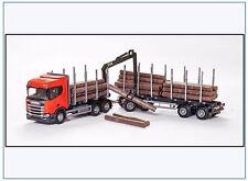 70605 Scania R450 6x4 Topline Holzhängerzug mit Kran, EMEK 1:25 NEUHEIT 2017
