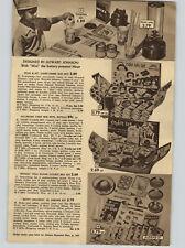 1955 PAPER AD Toy Mixer Howard Johnson Pillsbury Cake Nestle Tollhouse Crocker