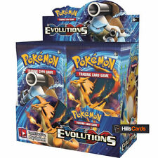 Booster Box Evolutions Pokémon Individual Cards