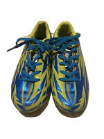 Lotto Forza Jr. Soccer Cleats Youth Size 4 Blue Green