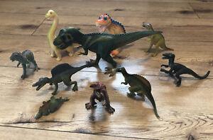 Dinosaurier 10 Figuren Sammlung (4 von Schleich)