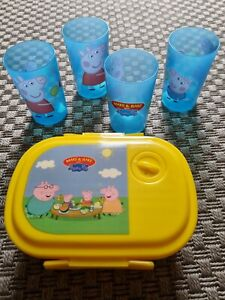 Peppa Pig Make And Bake Drinking Beakers And Lunch Box