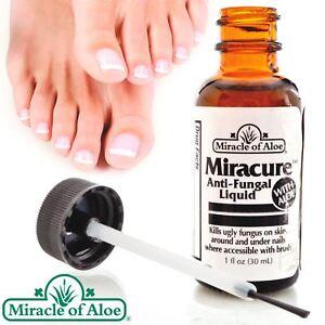 Miracure Toe Nail Anti Fungal Treatment Liquid with Brush Applicator 30ml