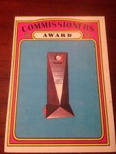 Baseball Card Topps Commissioners Award 621