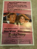 HANKY PANKY - Gene Wilder, Radner - Original NSS Movie Poster 1982 Folded SS C8