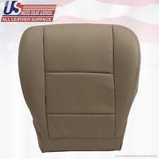 For Fit on 2001-2004 TOYOTA SEQUOIA Passenger Bottom Leather Seat Cover Tan