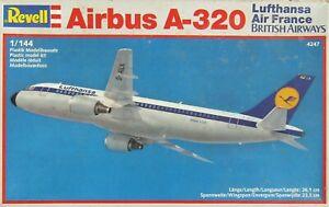Revell 1/144 Air France/British Airways/Lufthansa Airbus A320