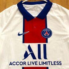 Nike Paris SG 20/21 Vapor Match Away Soccer Jersey White CD4188-101 Men's Size L