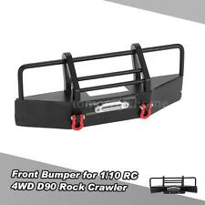 NEW Metal Front Bumper With Trailer Buckle For 1/10 RC4WD D90 RC Rock Crawler