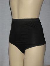 6 Pairs Ladies Cotton Lycra Full Brief Size 12-14