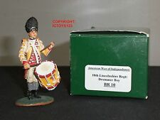 King and Country br10 10th Lincolnshire REGGIMENTO Drummer BOY Giocattolo Soldato Figura