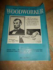Woodworker January 1959 ~ Retro Vintage Illustrated Magazine + Advertising