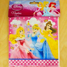 Party Decoration Princess PARTY PACK Candle, Napkins, Loot Bags & Table Cover