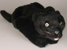 Black Panther Cub by Piutre, Hand Made in Italy, Plush Stuffed Animal NWT