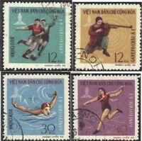 Vietnam 462-465 (kompl.Ausg.) gestempelt 1966 GANEFO-Sportspiele PhnomPenh