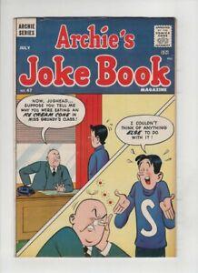 ARCHIE'S JOKE BOOK #47 Fine+, very early Neal Adams art, Betty, Veronica,1960